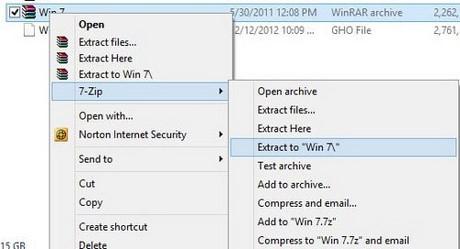 Hướng dẫn cách cài đặt Windows 7 từ ổ cứng HDD