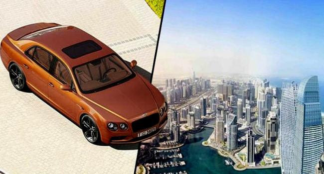 Bức ảnh chụp toàn cảnh Dubai phóng to vẫn nhìn rõ nét chi tiết nhỏ nhất trên xe Bentley