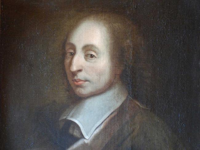 Nhà triết học Blaise Pascal