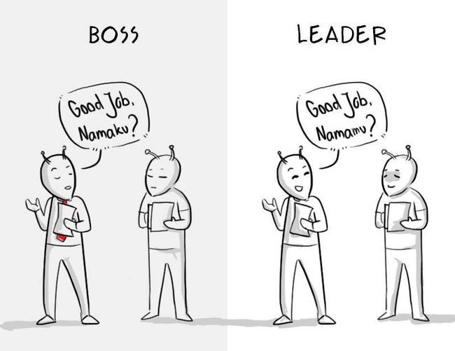 Lãnh đạo là người giúp bạn từ phía sau