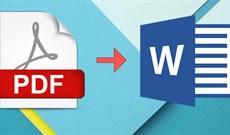 Phần mềm chuyển đổi file PDF sang Word chuyên nghiệp