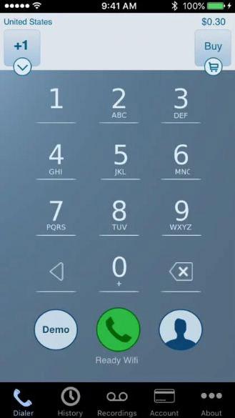 Nhấn số điện thoại