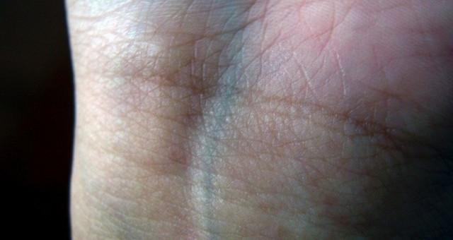 Tĩnh mạch của con người có màu xanh