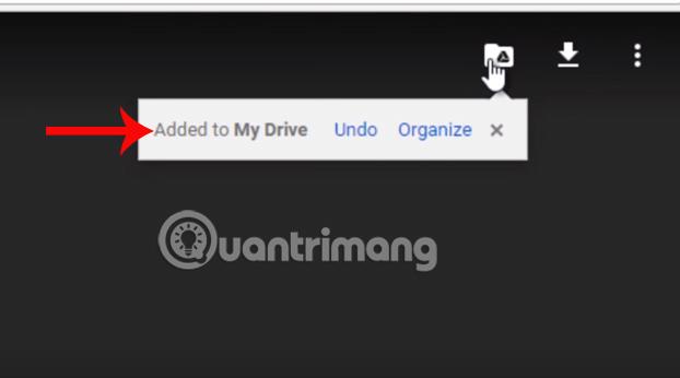 Thêm file vào Google Drive