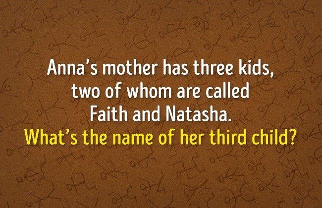 Vậy người con thứ 3 có tên là gì?