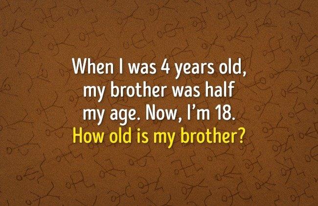 Hỏi em trai tôi bao nhiêu tuổi?