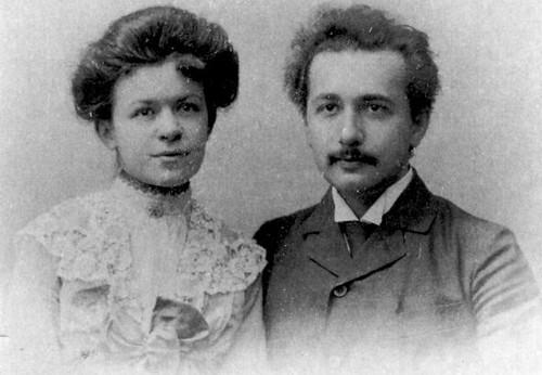 Einstein và người vợ đầu Mileva Maric