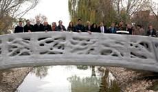 Cầu đi bộ in 3D đầu tiên trên thế giới ở Tây Ban Nha