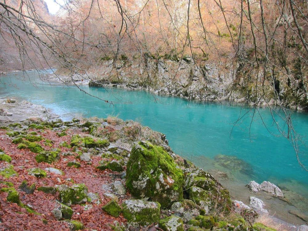 Sông Tara uốn lượn quanh hẻm núi đẹp như tranh vẽ