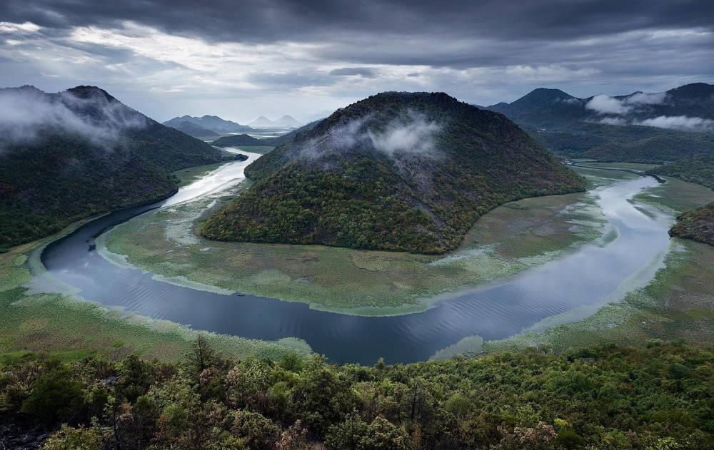 Hồ Skadar vẫn thật đẹp ngay cả trong những ngày mưa