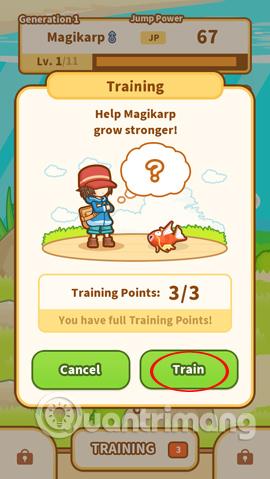 Bài tập huấn luyện Magikarp
