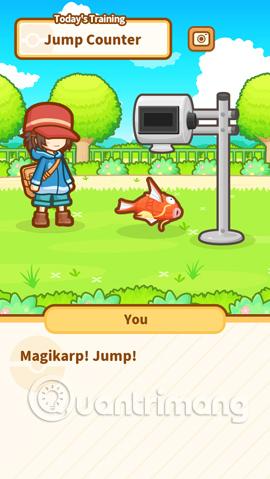 Bài tập bật nhảy cho Magikarp