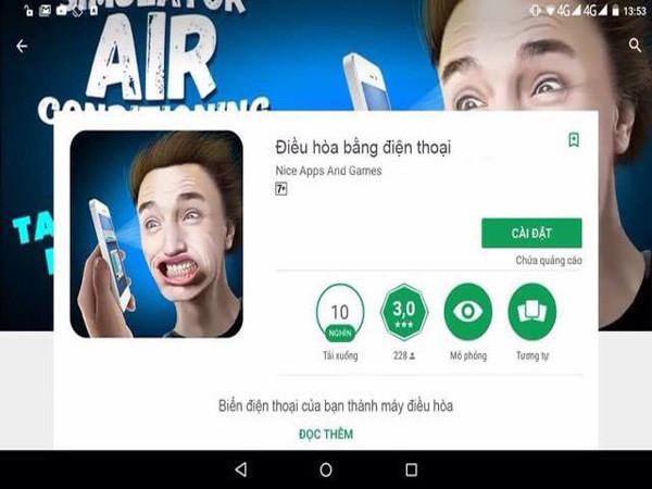 App mới cho điện thoại