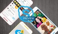 Trải nghiệm một số tính năng trên Skype Preview phiên bản mới