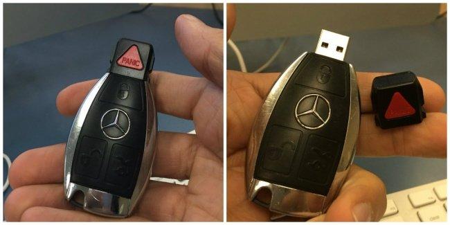 Vừa tậu xe Mercedes