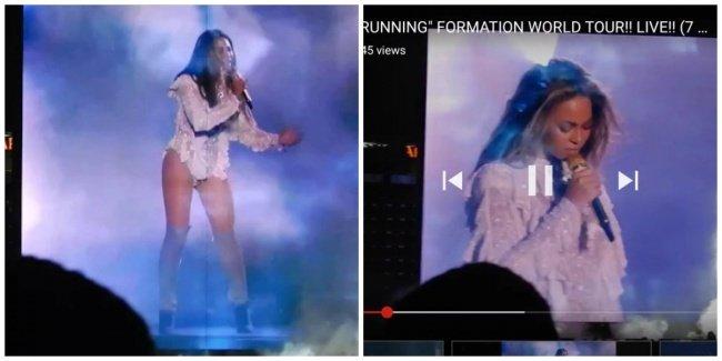 Vừa đi xem concert của Beyoncé về