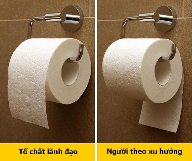 Cách bạn treo giấy giấy vệ sinh