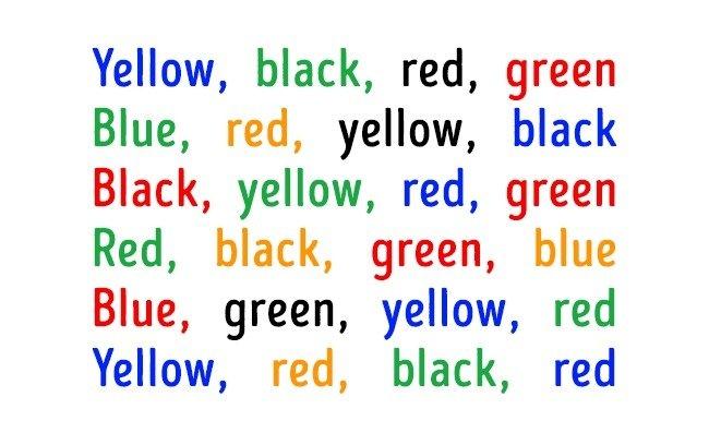 Văn bản nhiều màu sắc