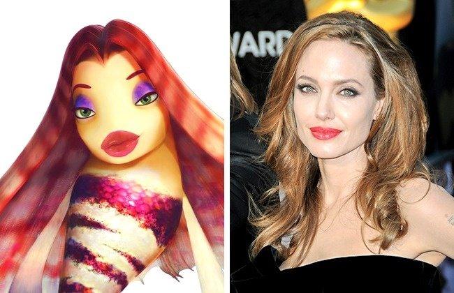Lola và Angelina Jolie