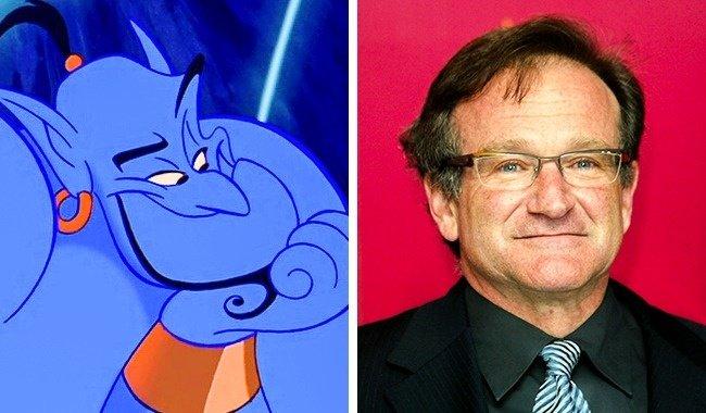 Genie và Robin Williams