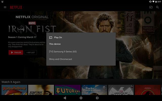 Cách dùng Chromecast với iPad, iPhone và Android
