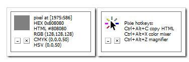 Công cụ lấy mã màu Pixie