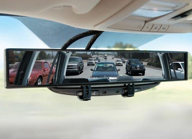 Gương chiếu hậu xóa mọi điểm mù - Blind-spot-free rearview mirror