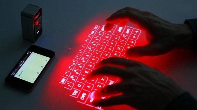 Bàn phím laze không dây - Wireless laser keyboard