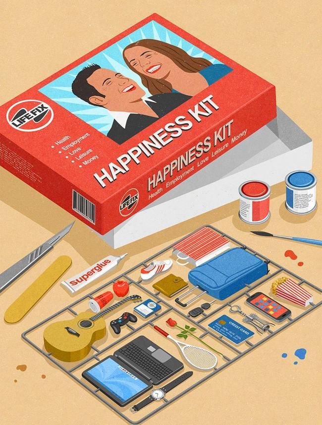Đây là bộ dụng cụ giúp cho con người trở nên hạnh phúc mỗi ngày