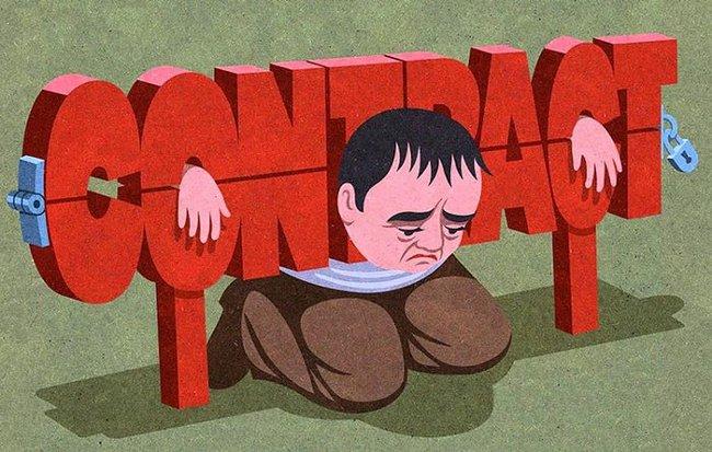 """Hợp đồng giao kèo hiện nay khiến con người """"bị bó hẹp và ràng buộc"""" quá nhiều."""