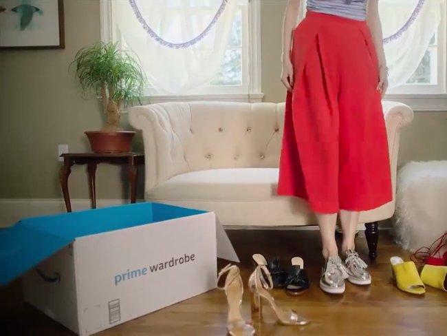 Hơn 1 triệu mẫu theo video quảng cáo của Amazon.