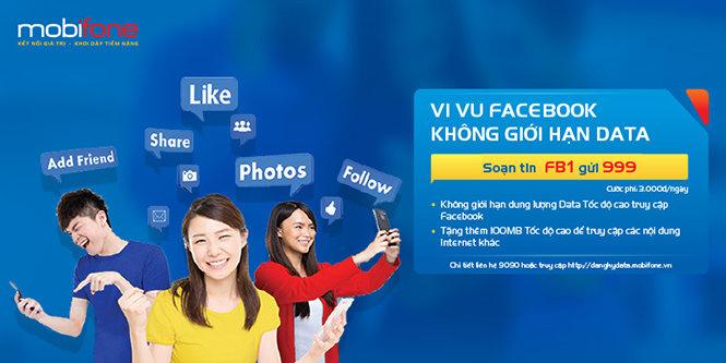 Gói Facebook data Plus
