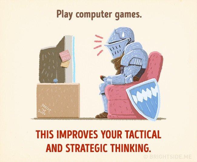 Chơi game trên máy tính giúp cải thiện tư duy chiến thuật và chiến lược