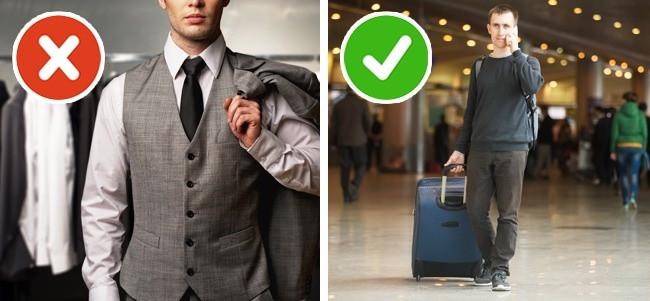 Hãy chọn trang phục thoải mái khi đi máy bay