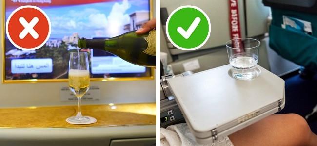 Lựa chọn thực phẩm thông thái trên chuyến bay