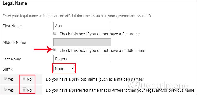 Nhập tên tài khoản