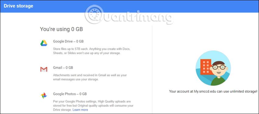 Đăng ký thành công tài khoản Google Drive không giới hạn