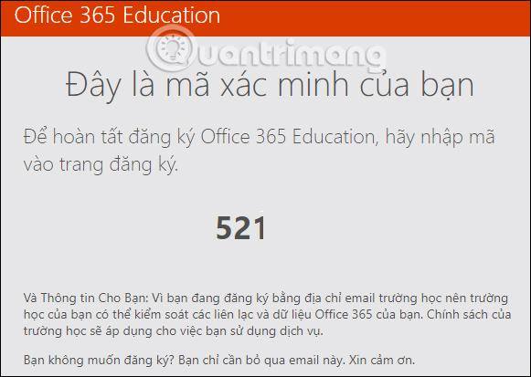 Cách đăng ký tải bộ Office 365 miễn phí cho sinh viên/giáo viên