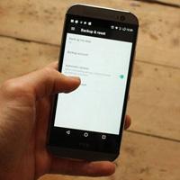 Khôi phục cài đặt và dữ liệu trên Android với Google Backup