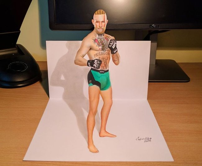 Bản vẽ 3D vận động viên '