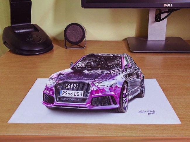 Bản vẽ 3D ô tô