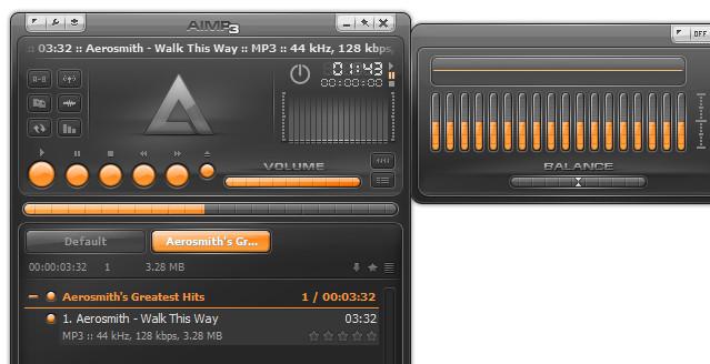 Ứng dụng nghe nhạc và xem video AIMP