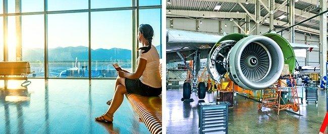 Tìm hiểu sân bay và máy bay