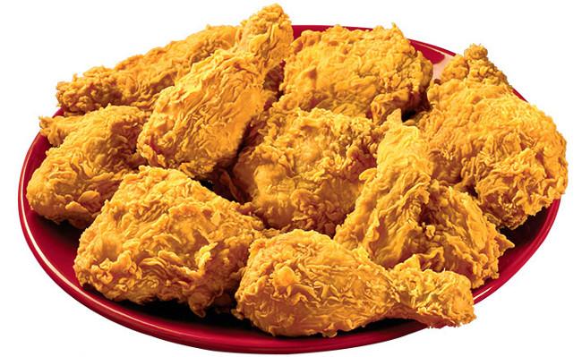 1 miếng gà rán sẽ phải chạy 24 phút