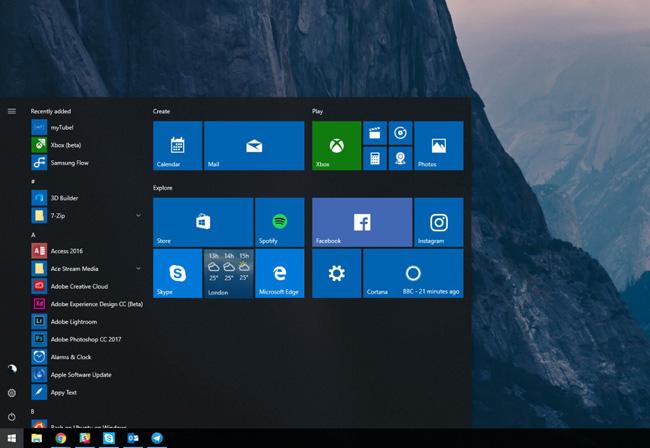 Bản cập nhật Windows 10