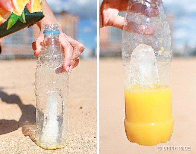 Làm nước uống cực nhanh