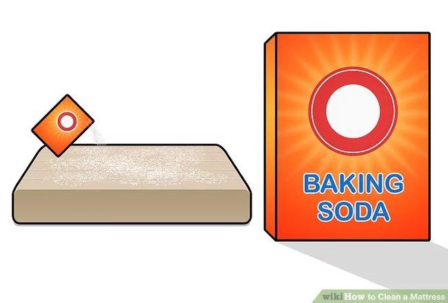 Rắc muối nở lên nệm