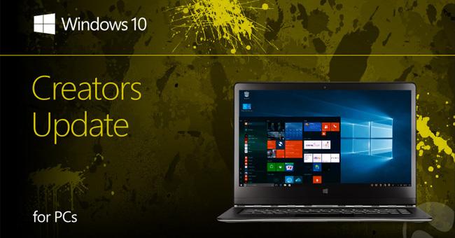 Cách khắc phục một số lỗi trên Windows 10 Creators