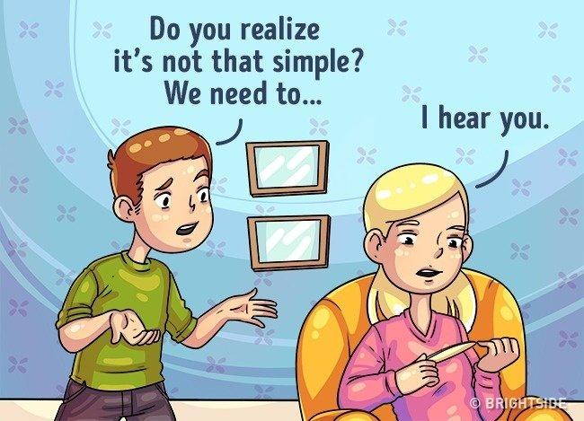 """""""Tôi đang nghe"""" - """"Tôi hiểu mà"""""""