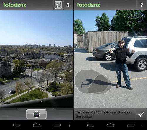 Ứng dụng Fotodanz